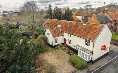 Estate agent aerial photography in Norfolk