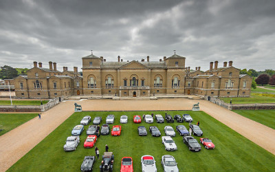The Hoste Supercar event – Norfolk aerial photography