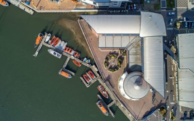 RNLI accredited aerial photographer – a world first!