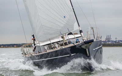Oyster Yachts – aerial photography & video in Norfolk